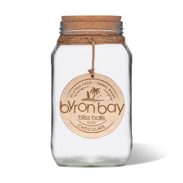 Empty jar chocolate