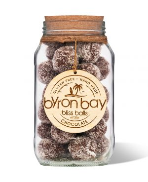 Byron Bay Bliss Balls Jar Chocolate