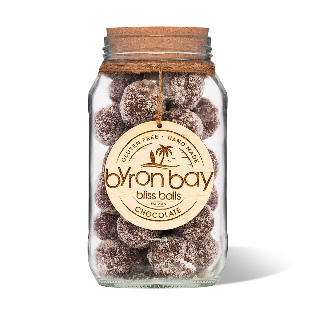 Byron Bay Bliss Balls Jar Chocolate