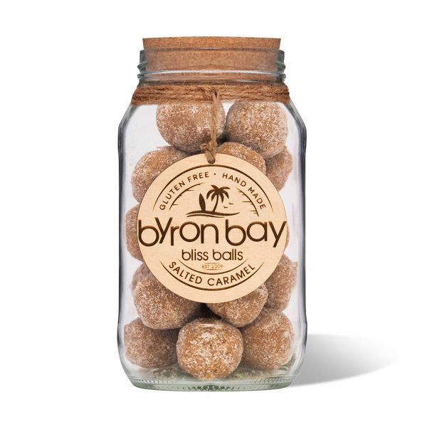Byron Bay Bliss Balls Jar Salted Caramel